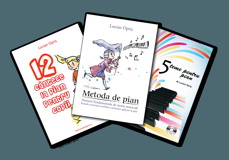 Pachetul promotional – 3 Carti Pentru Pian – PDF